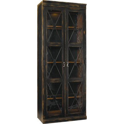 Sanctuary Lighted Display Stand Color: Ebony