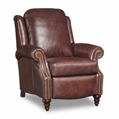Hobson Recliner Color: Chesnut Brown