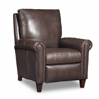 Haskins Recliner Color: Dark Brown