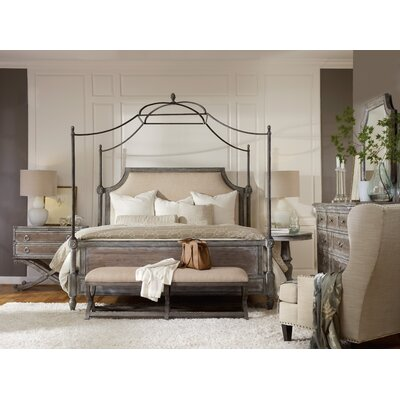 True Vintage Canopy Customizable Bedroom Set