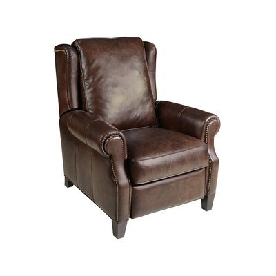 Montana Livingston Leather Manual Recliner