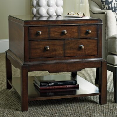 Palisade End Table with Storage