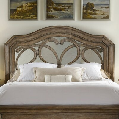 Solana Open-Frame Headboard Size: Queen