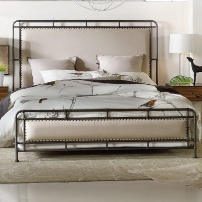 Studio 7H Upholstered Panel Bed Size: King