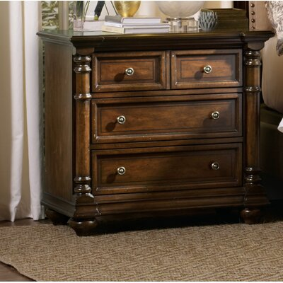 Leesburg 3 Drawer Nightstand