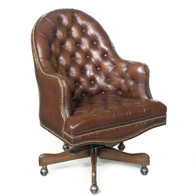 Derby Prairie Leather Desk Chair