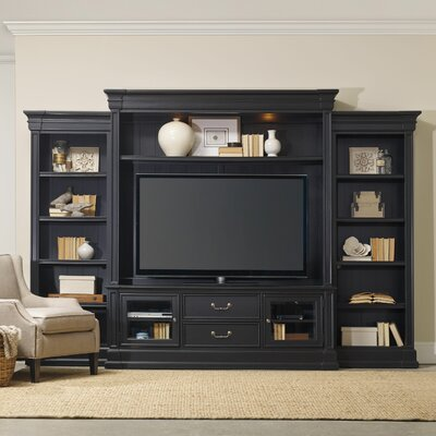 Clermont Entertainment Center Color: Black