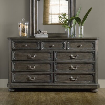 St. Armand 9 Drawer Dresser