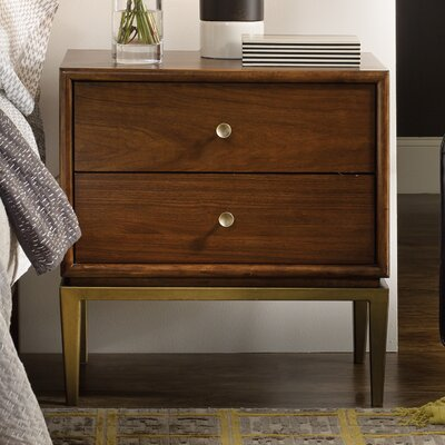 Studio 7H 2 Drawer Nightstand