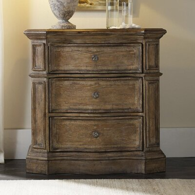 Solana 3 Drawer Nightstand