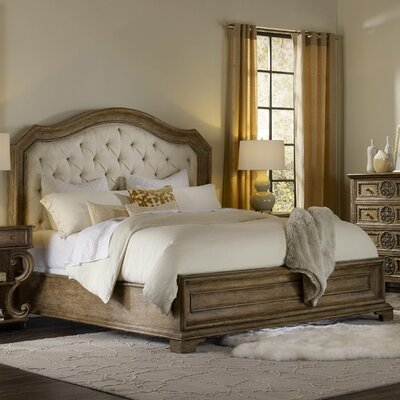 Solana Upholstered Panel Bed Size: California King