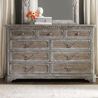 True Vintage 9 Drawer Dresser