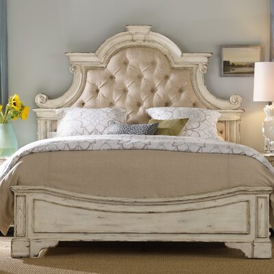 Sanctuary Upholstered Panel Bed Size: California King