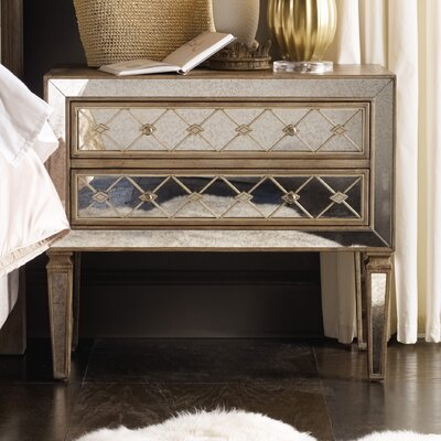 Sanctuary 2 Drawer Nightstand