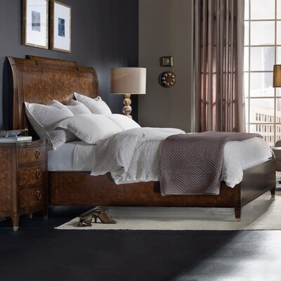 Skyline Sleigh Bed Size: King