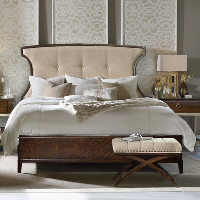 Skyline Upholstered Panel Bed Size: California King