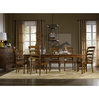 Tynecastle 7 Piece Extendable Dining Table Set 5323-75200
