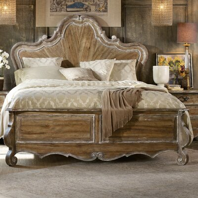 Chatelet Panel Bed Size: King