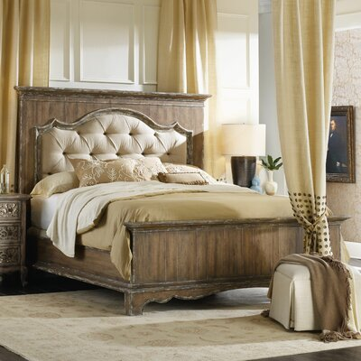 Chatelet Upholstered Panel Bed Size: Queen