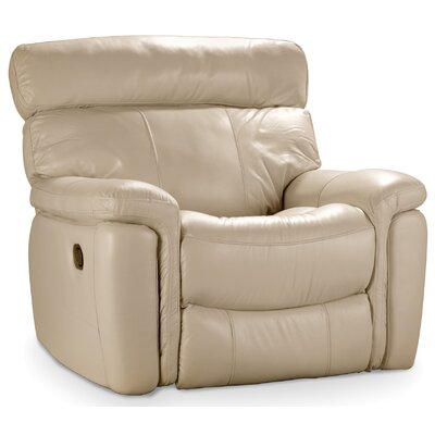 Power Recliner Upholstery: Taupe