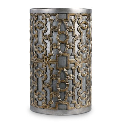 Melange Mia End Table Finish: Gold/Silver
