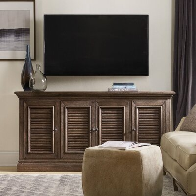 Regatta TV Stand Finish: Dark Wood