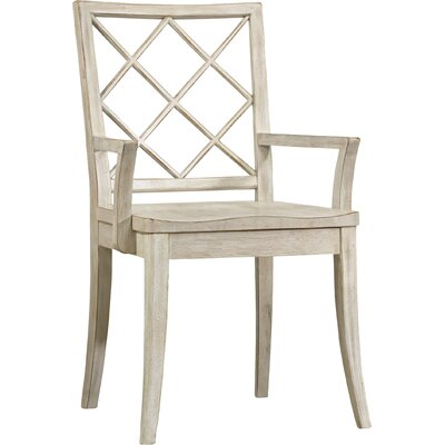 Sunset Point X Back Dining Chair (Set of 2) Finish: Hatteras White