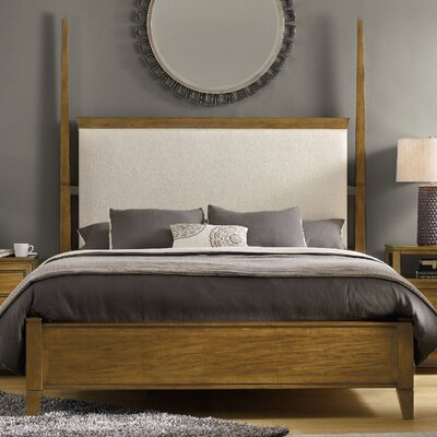 Retropolitan Upholstered Four Poster Bed Size: California King