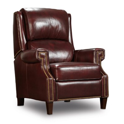 Morgan Recliner Upholstery: Red