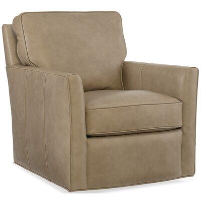 Mandy Swivel Club Chair Upholstery: Caruso Falvo Beige