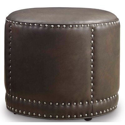 Dowdy Leather Cocktail Ottoman Upholstery: Aspen Durant Gray