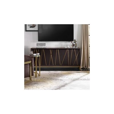 66 TV Stand Color: Black