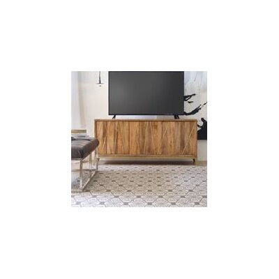 66 TV Stand Color: Light Wood