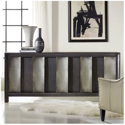 Melange Channeled Console Table