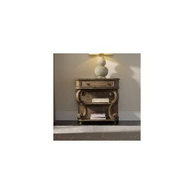 Solana 1 Drawer Leg Nightstand