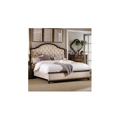 Leesburg King Upholstered Sleigh Bed