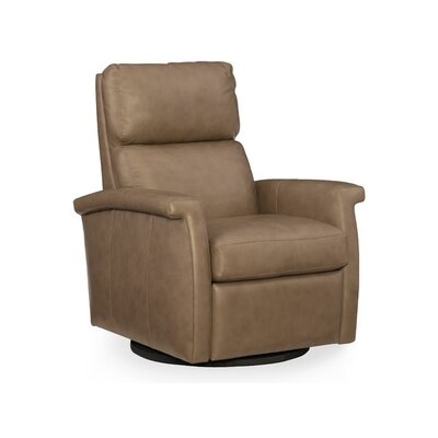 Rosalie Swivel Recliner Body Fabric: Brown