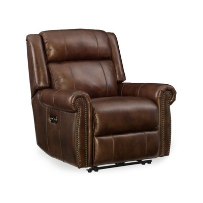 Esme Leather Power Recliner with Power Headrest