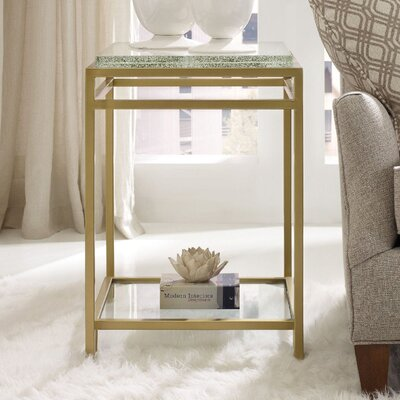 Skyline Floating Shelf End Table
