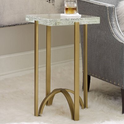 Skyline Rectangular Martini End Table