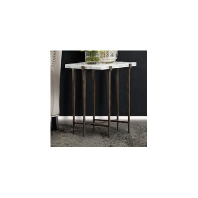 Melange Bellis End Table