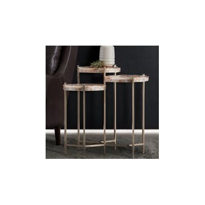 Melange Trilogy 3 Top End Table