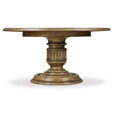 Auberose Pedestal Dining Top Size: 4 L x 60 W