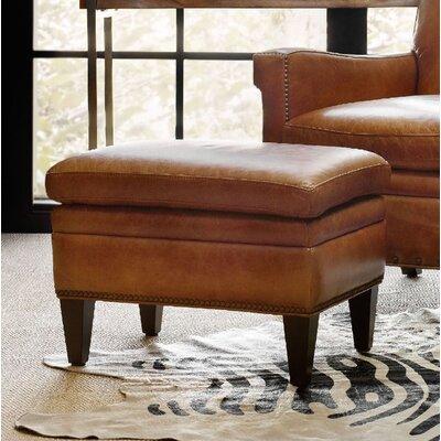 Jilian Leather Ottoman