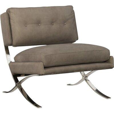 Cherie Metal Frame Slipper Chair