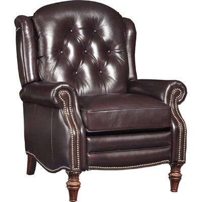 Victoria Leather Manual Recliner