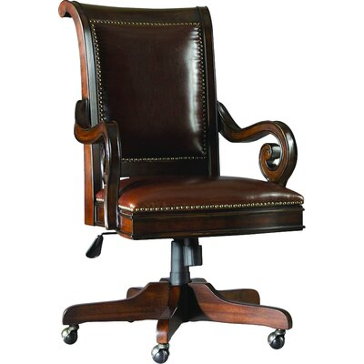 Renaissance Leather Bankers Chair European Product Image 285