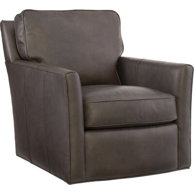 Mandy Swivel Armchair Upholstery: Caruso Naples Gray