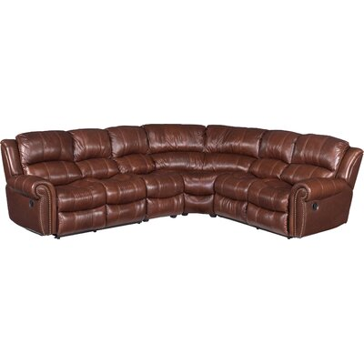 Sebastian Leather Reclining Sectional
