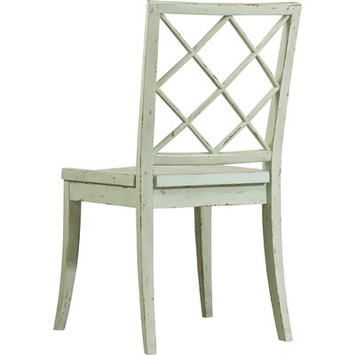 Sunset Point X Back Dining Chair (Set of 2) Finish: St. Johns Blue